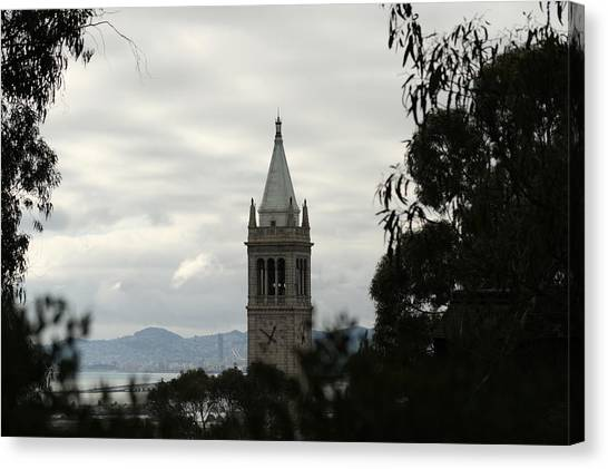 Uc Berkeley Canvas Print - The Campanile by Lennie Green