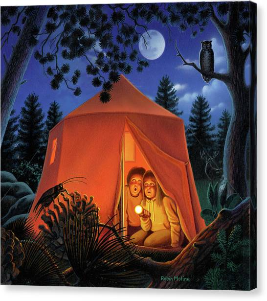 The Campout Canvas Print