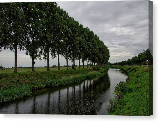The Canal Canvas Print