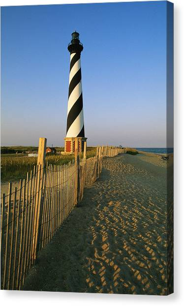 Cape Hatteras Lighthouse Canvas Print - The Cape Hatteras Lighthouse by Steve Winter