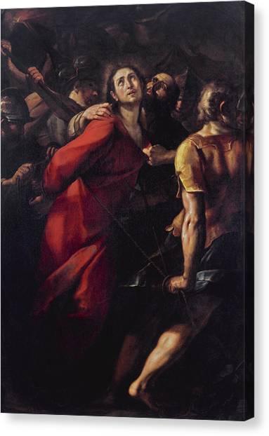 Procaccini Canvas Print - The Capture Of Christ by Giulio Cesare Procaccini
