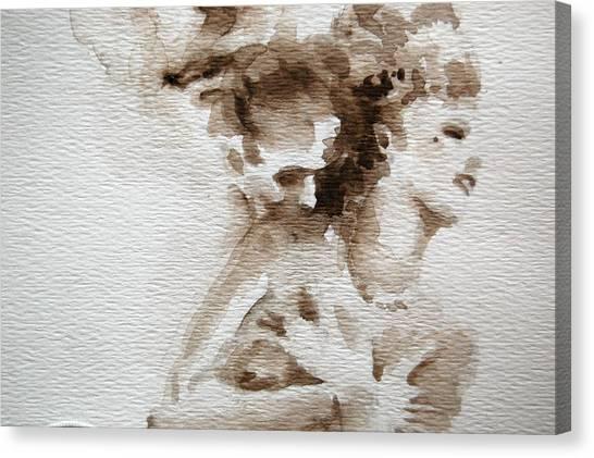 The Caress Canvas Print by Jea DeVoe