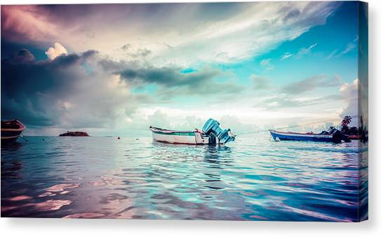 The Caribbean Morning Canvas Print