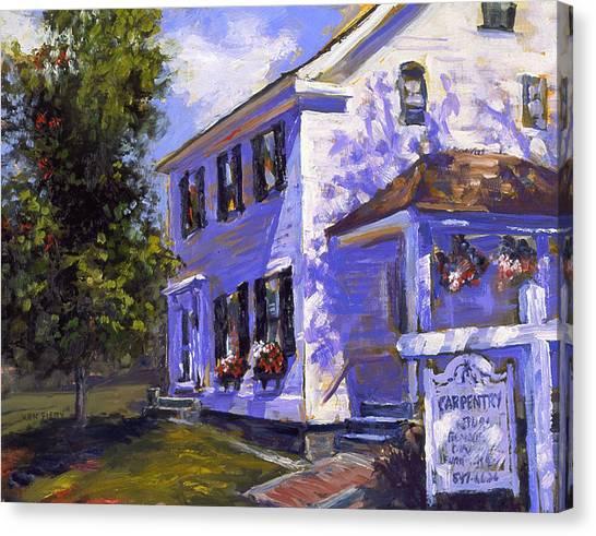 The Carpenters House Canvas Print