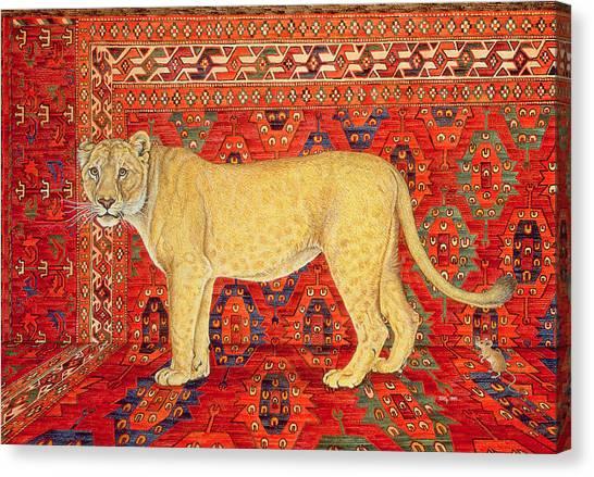 Persians Canvas Print - The Carpet Mouse by Ditz