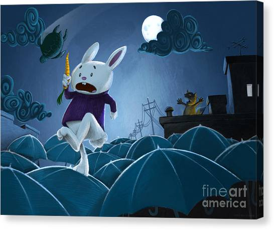 The Carrot Thief Canvas Print