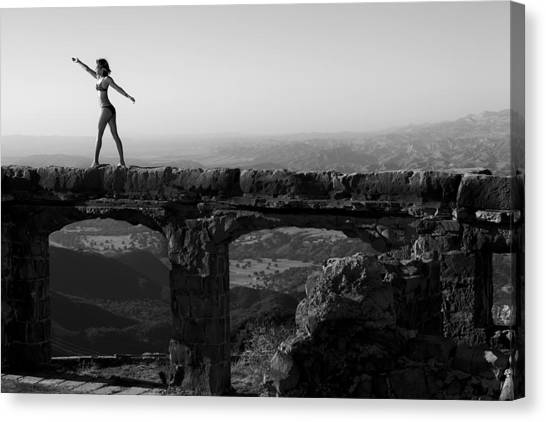 The Castle 2 Canvas Print by Matthew Hill