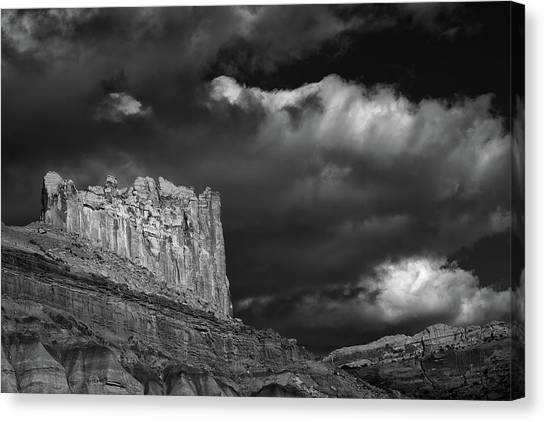 Capitol Reef Canvas Print - The Castle by Joseph Smith