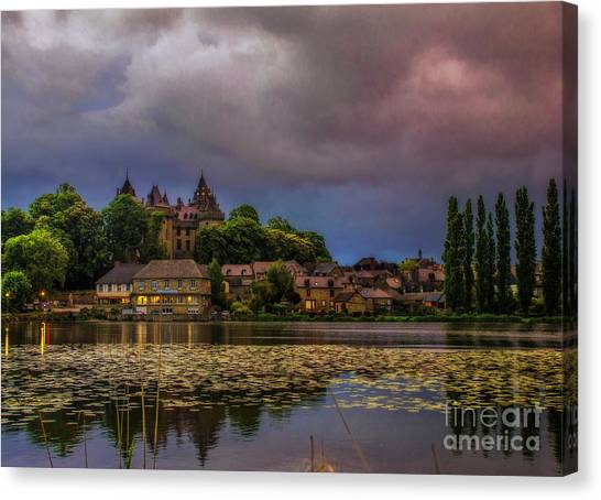 The Castle Of F.r. Chateaubriand Canvas Print