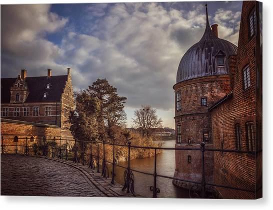 Danish Canvas Print - The Castle Walk by Carol Japp