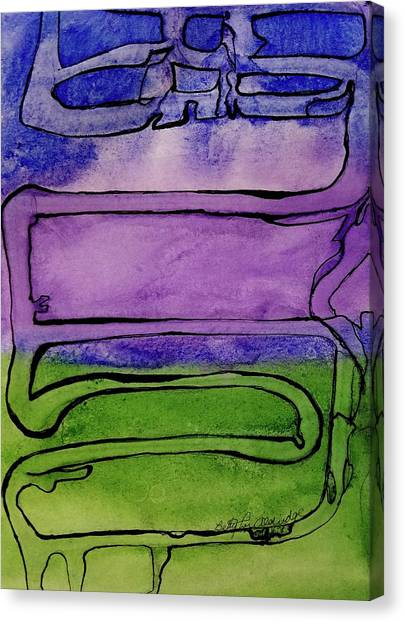 Main Coons Canvas Print - The Cat by Betty Lu Aldridge