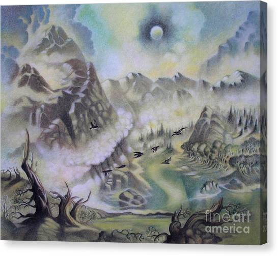 The Cauldron Canvas Print