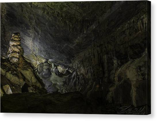 The Cavern Canvas Print