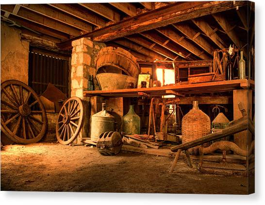 The Cellar Canvas Print