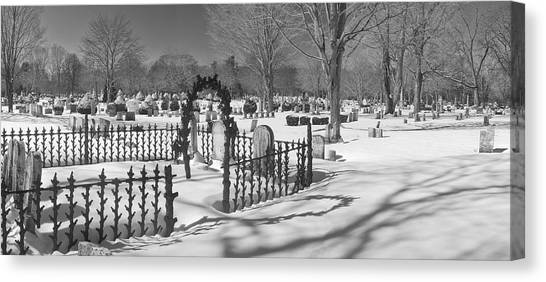 The Cemetery Canvas Print