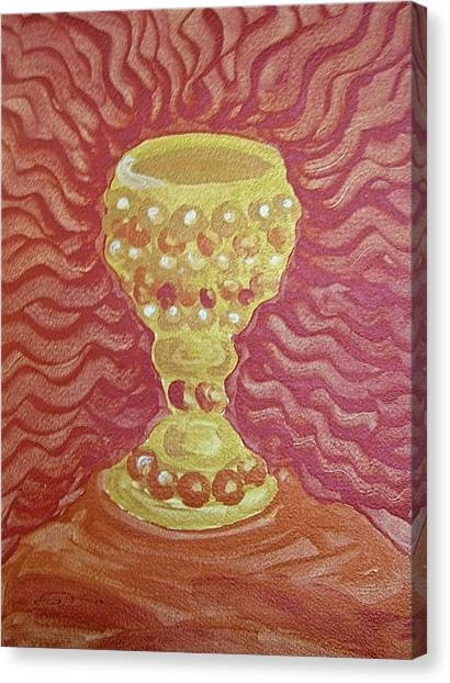 The Chalice Or Holy Grail Canvas Print
