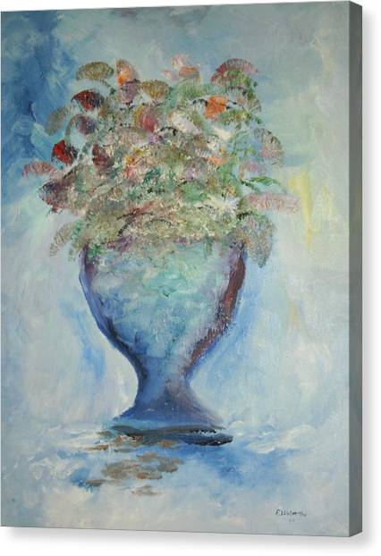 The Chalise Vase Canvas Print by Edward Wolverton