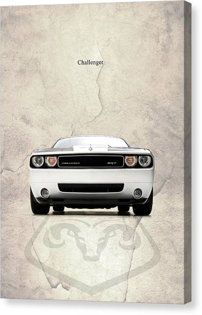 Dodge Canvas Print - The Challenger by Mark Rogan