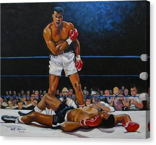 The Champ Canvas Print