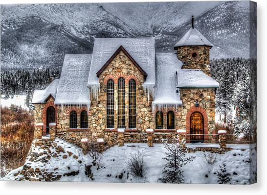 The Chapel Canvas Print by G Wigler