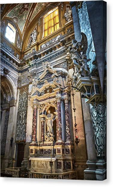 The Chapel Of Ignatius Of Loyola Canvas Print