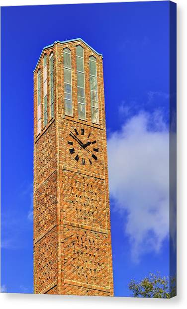 Mississippi State University Canvas Print - The Chapel Of Memories Bell Tower by JC Findley