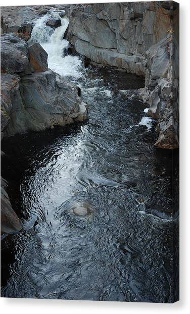The Chasm Canvas Print by Clay Peters Photography