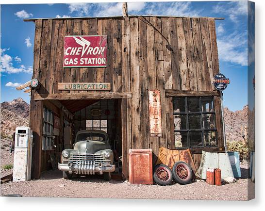 The Chevron Station  Canvas Print