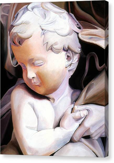 The Child From Michaelangelo Canvas Print