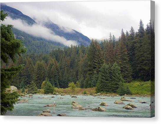 The Chillkoot River 2 Canvas Print