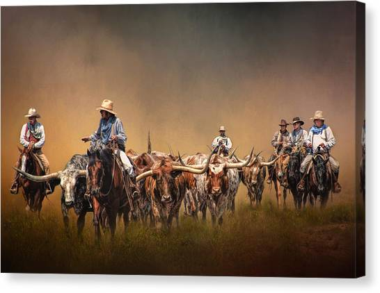 The Chisolm Trail Canvas Print