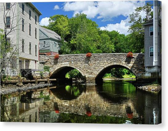 The Choate Bridge Canvas Print