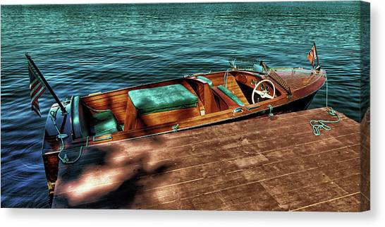 The Chris Craft Continental - 1958 Canvas Print