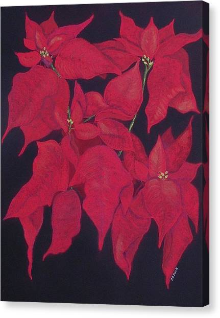 The Christmas Gift Canvas Print by Diane Frick