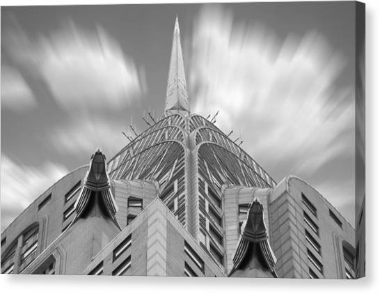 Chrysler Building Canvas Print - The Chrysler Building 3 by Mike McGlothlen