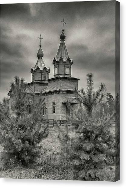 The Church Of The Savior. Danychi, 2016. Canvas Print