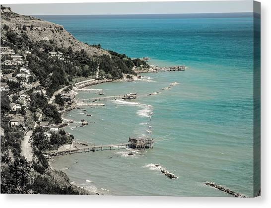 The City Of Waves Canvas Print