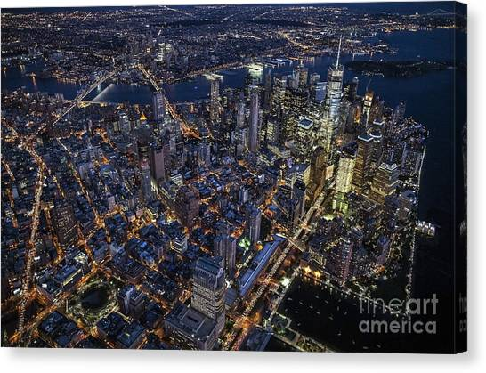 The City That Never Sleeps Canvas Print
