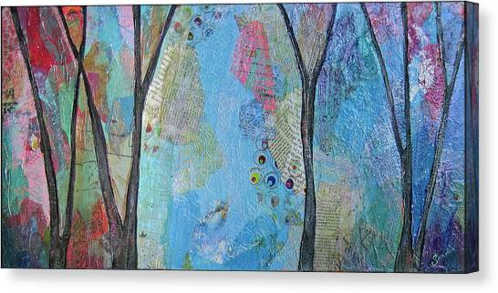 Vancouver Canvas Print - The Clearing I by Shadia Derbyshire