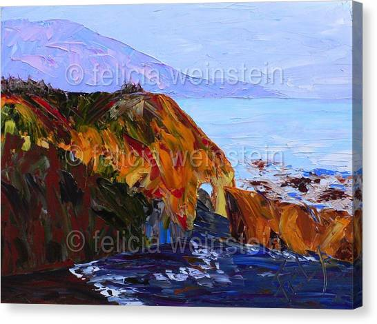 The Cliff 1 Canvas Print