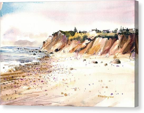 The Cliffs Of Aquinnah Canvas Print