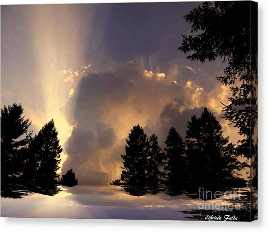 The Cloud Canvas Print