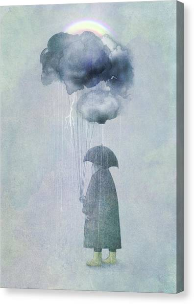 Rainbows Canvas Print - The Cloud Seller by Eric Fan