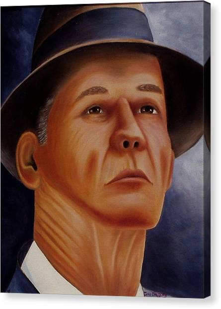 The Coach Canvas Print by Gene Gregory