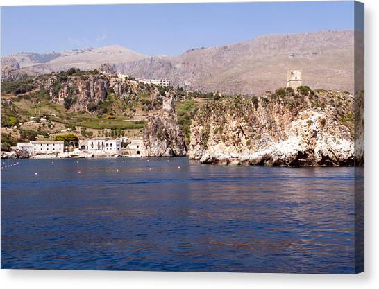 San Vito Lo Capo Canvas Print - The Coast Of Zingaro Reserve by Focus  Fotos