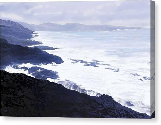 The Coast Canvas Print