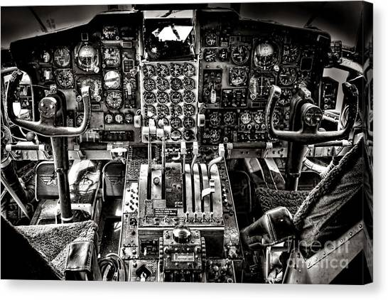 Cockpits Canvas Print - The Cockpit by Olivier Le Queinec