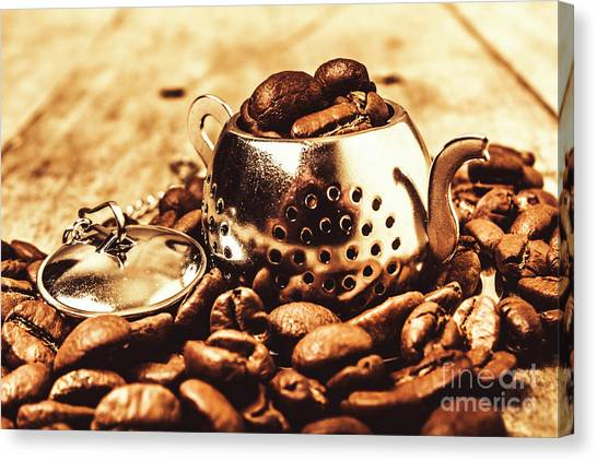 Tea Pot Canvas Print - The Coffee Roast by Jorgo Photography - Wall Art Gallery
