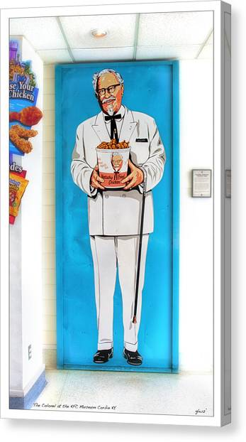 The Colonel  Canvas Print
