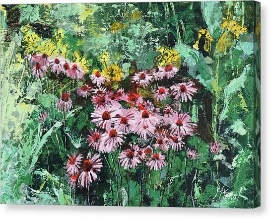 Coneflowers  Garden Canvas Print